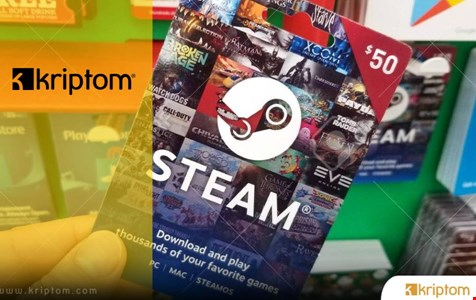 20 Kullanıcımıza 50 TL'lik Steam Gift Card