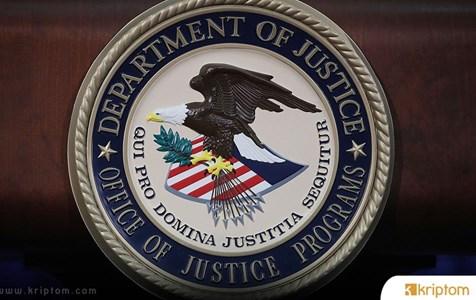 ABD Adalet Bakanlığı 2018'de Kripto Borsasından Ele Geçirilen Fonları Talep Ediyor