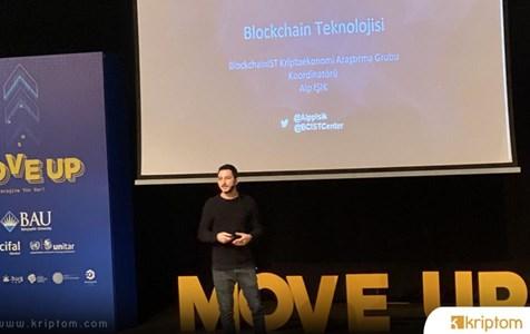 Alp Işık Lise Öğrencilerine Blockchain'i Anlattı