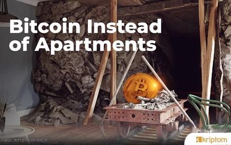 Apartmanlar Yerine Bitcoin: İflas Eden Şirketin Direktörü Müşterilerin Mevduatıyla BTC Almış