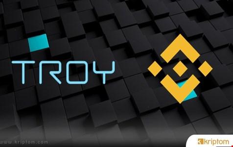 Binance Launchpad Platformu Troy Trade IEO'sunu Duyuru
