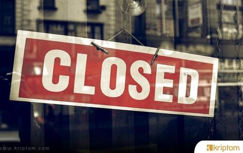 Bir Bitcoin Borsası Daha Kapılarına Kilit Vuruyor