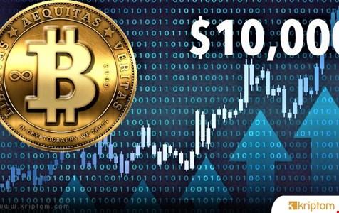Bitcoin 10.000 Doları Yeniden Kırdı