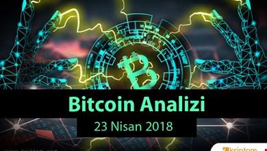 Bitcoin Analizi (23.04.2018)