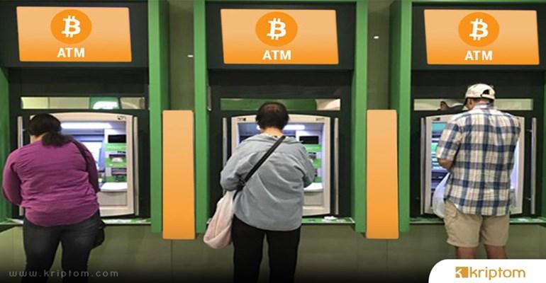 Bitcoin Atm'lerinde Artış