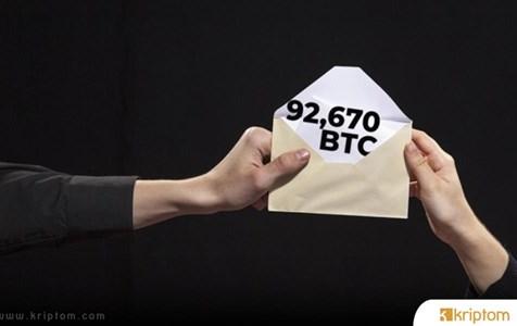 Bitcoin Balinaları 820 Milyon Dolarlık BTC'yi Bu Ücretle Transfer Etti