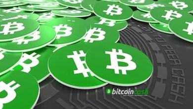 Bitcoin Cash hafta sonu boyunca yükseliyor ve düşüyor