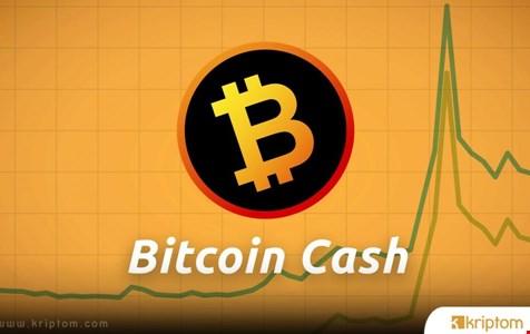 Bitcoin Cash Kritik Direncin Altına İndi
