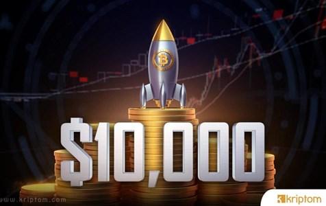 Bitcoin Düzeltmenin Ardından Yeniden 10.000 Doları Aştı