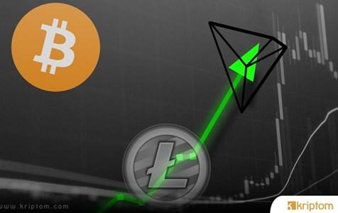 Bitcoin, Litecoin ve Tron Fiyat Tahmini - Düzeltme Sona Erdi mi?