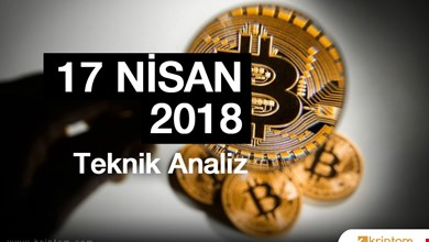 Bitcoin Teknik Analizi (17.04.2018 )
