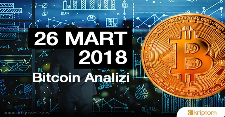 Bitcoin teknik analizi (26.03.2018)