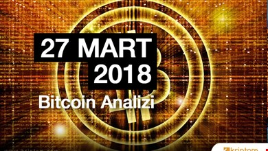 Bitcoin Teknik Analizi (27.03.2018)