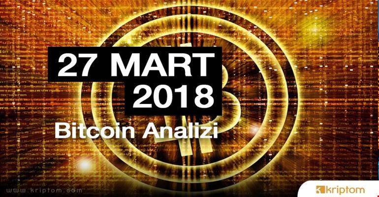 Bitcoin Teknik Analizi (27.03.2018)
