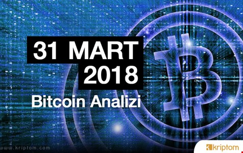 Bitcoin Teknik Analizi (31.03.2018)
