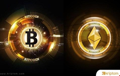 Bitcoin ve Ethereum Fiyat Analizi
