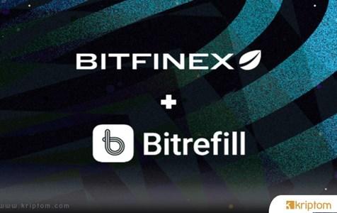 Bitfinex, Bitrefill İle Stratejik İttifak Kurdu