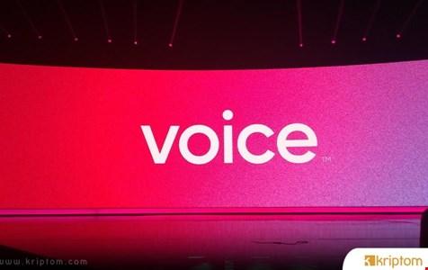 Block.One'ın Blockchain Tabanlı Sosyal Medya Platformu Voice Hayata Geçiyor