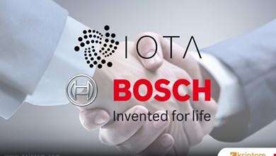 Bosch firması, IOTA'ya büyük yatırım yaptı
