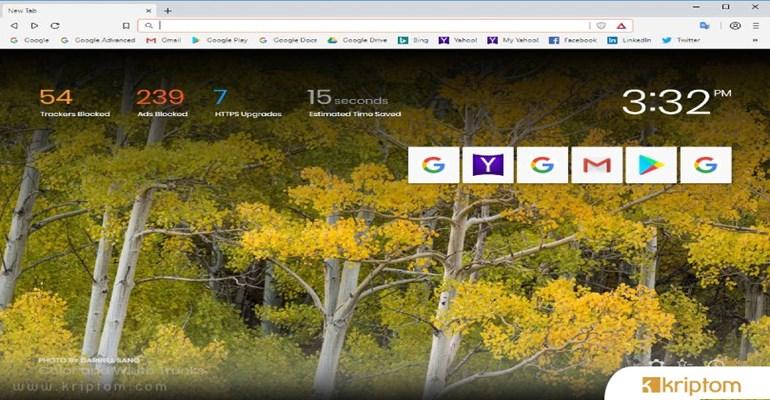 Brave Browser 10 Milyonluk Barajı Geçti