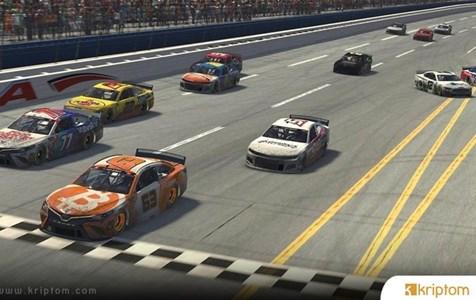"""Bryan Cook """"Bitcoin Otomobilinde"""" Sanal NASCAR Yarışı Kazandı"""