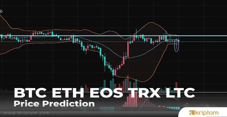 BTC, ETH, EOS, TRX ve LTC Fiyat Tahmini: Geri Dönüşten Sonra Ne Beklenmeli?