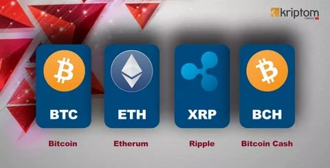 Bitcoin, Ripple, Etherum ve Bitcoin Cash 14 Ağustos fiyat analizi