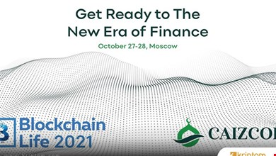 Caizcoin, Blockchain Life 2021'in Genel Sponsoru