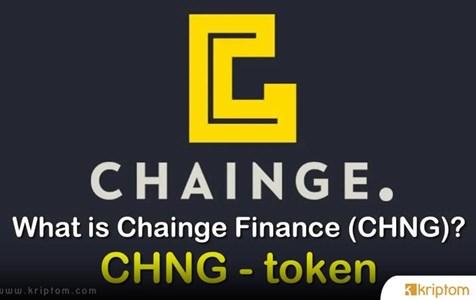 Chainge Finance Coin (CHNG) Nedir? İşte Tüm Ayrıntılarıyla Kripto Para Birimi CHNG Coin