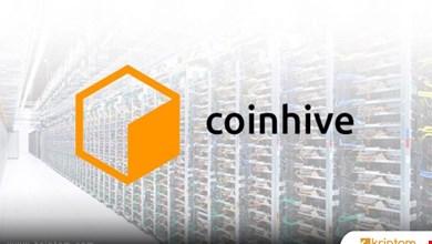 Coinhive ile Monero Mining