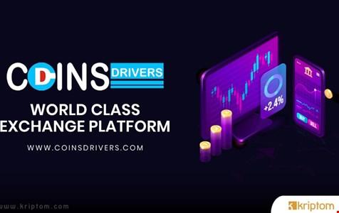 Coins Drivers: Perakende ve Kurumlara Hizmet Veren Hepsi Bir Arada Kripto Borsası Halka Açık Satışa Başlıyor