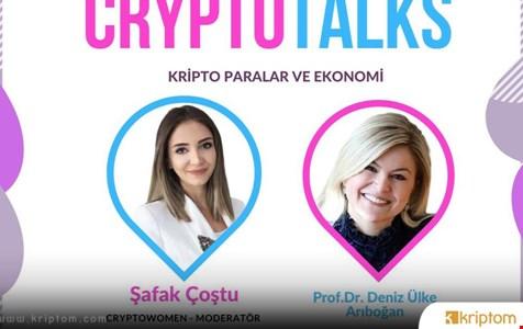 CryptoWomen Turkey Ünlü Akademisyeni Ağırlıyor - İşte Ayrıntılar