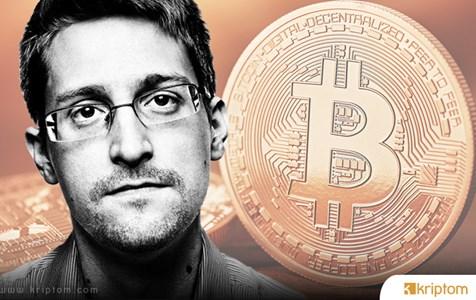 """Edward Snowden: """"Zcash En İlginç Bitcoin alternatifidir""""."""