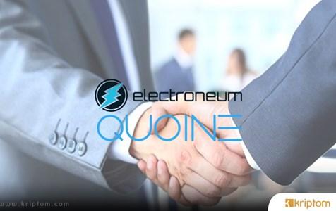 Electroneum, QUOINE ile ortaklığını açıkladı