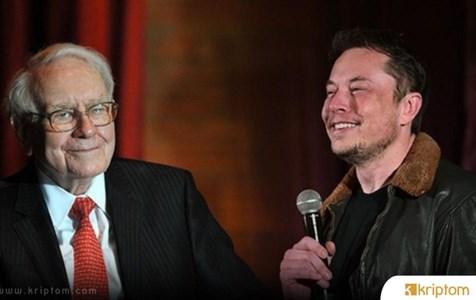 Elon Musk'tan Warren Buffett Hamlesi Geldi Ama…