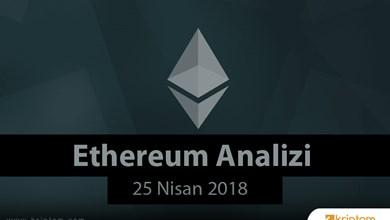 Ethereum Analizi (25.04.2018)