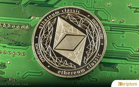 Ethereum Classic Fiyatı Yüzde 33 Arttıktan Sonra Kripto Dünyasının 10. Sırasına Yerleşti