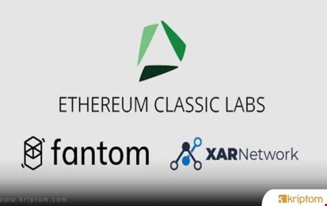 Ethereum Classic Labs, DeFi'yi ETC'ye Getirmek İçin Fantom ve Xar Network İle Birlikte Çalışıyor