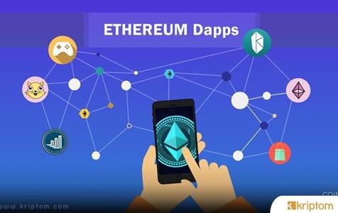 Ethereum DApps 2019'da Aktif Kullanıcılarda Yüzde 900 Artış Kaydetti