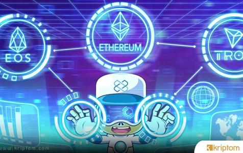 Ethereum, EOS ve Tron, 2019'da Aktif DApp'lerde İstikrarlı Bir Düşüş Kaydetti