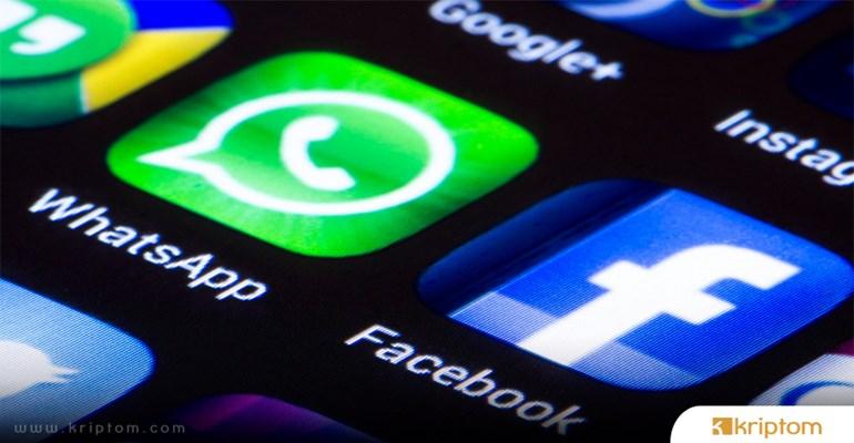 Facebook WhatsApp'ta Kullanılmak Üzere Kendi Kripto Parasını Geliştiriyor