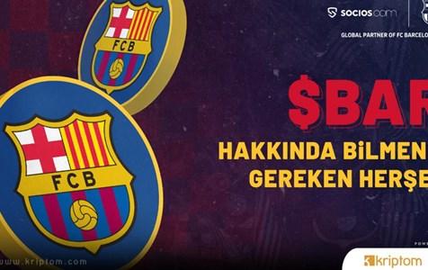 FC Barcelona Taraftar Tokenleri - $BAR Satışa Çıkıyor!