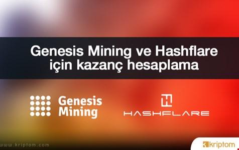 Genesis Mining ve Hashflare Kazanç Hesaplama