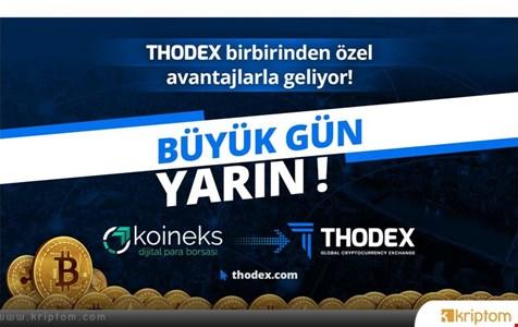 Globalleşen Yerli Kripto Para Borsası Thodex Yarın Hizmete Açılıyor