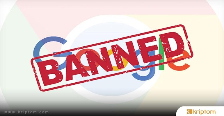 Google kripto para reklamlarını yasaklıyor