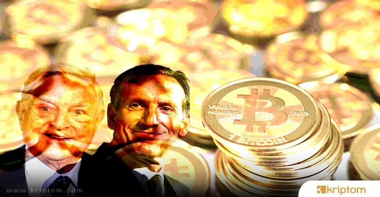 Howard Schultz ve George Soros'tan Bitcoin hakkında olumsuz açıklamalar