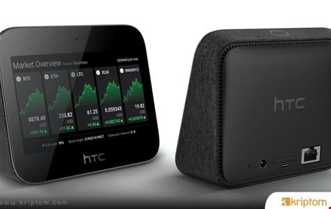 HTC, Bitcoin (BTC) Node Desteği ve Brave Tarayıcı ile 5G Yönlendiriciyi Sunuyor