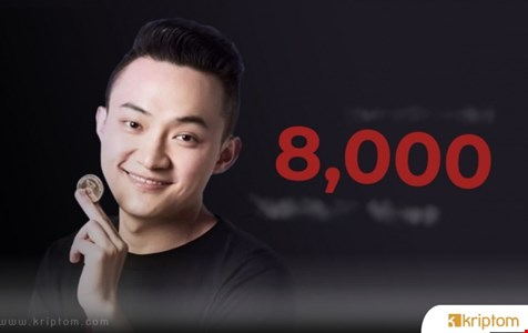 Justin Sun: Yeni Tron Tabanlı Oyun Bir Saatte 8.000 Testnet Kullanıcısı Edindi