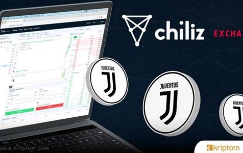 Juventus ($ JUV) Fan Token Fiyatı Chiliz.Net'te Alım Satıma Açıldığı İlk Saatlerde %17 Arttı