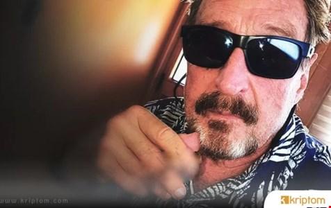 Kripto Baronu John McAfee, CIA ve Zombie Coin ile Birlikte Hareket Ettiğini İddia Ediyor